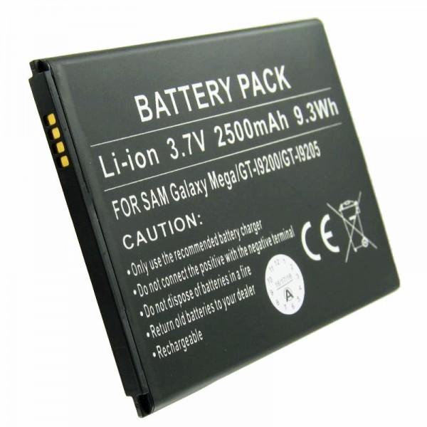 Samsung GALAXY MEGA 6.3 batterie rechargeable comme une réplique de AccuCell