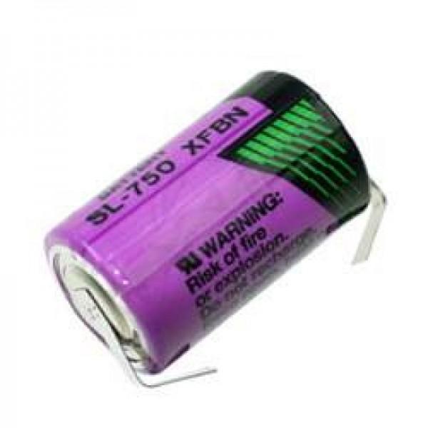 Sonnenschein Inorganic Lithium Battery SL-750 / T avec étiquettes de soudure