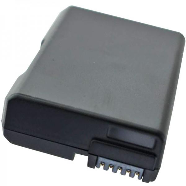 Nikon D3300 batterie rechargeable EN-EL14A, EN-EL14, EN-EL14e comme une réplique de la batterie de AccuCell avec 950mAh