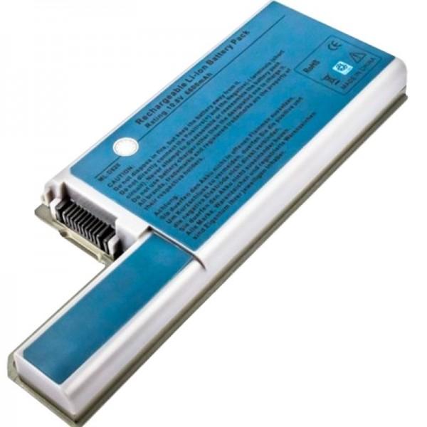 Batterie pour Dell Latitude D830, batterie de remplacement Dell Latitude D820