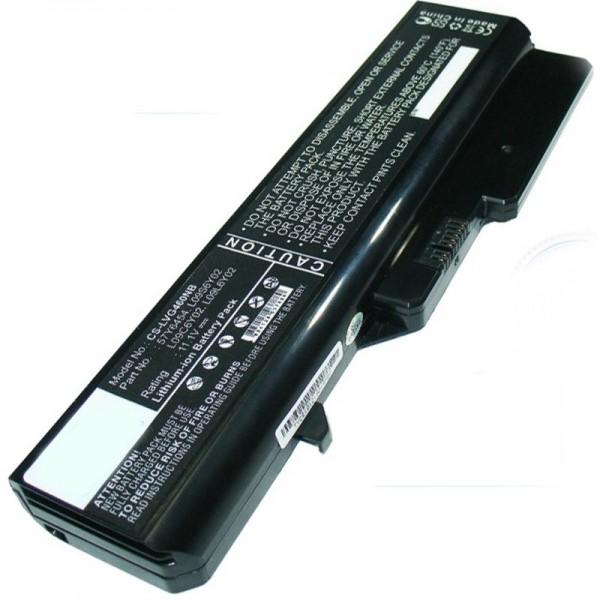 Batterie pour Lenovo IdeaPad G560, M276LGE 5200mAh de AccuCell