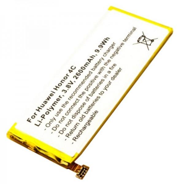 Huawei Honor 4C qualité batterie type HB444199EBC + de AccuCell