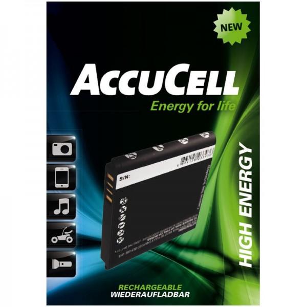 AccuCell batterie convient pour HTC HD mini, HTC Photon, HTC T5555