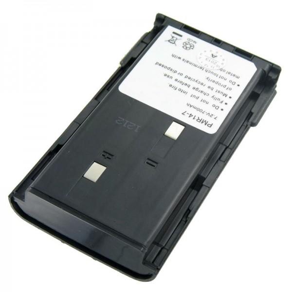 AccuCell batterie adapté pour Kenwood TK 261, KNB-14, -15, 1200mAh