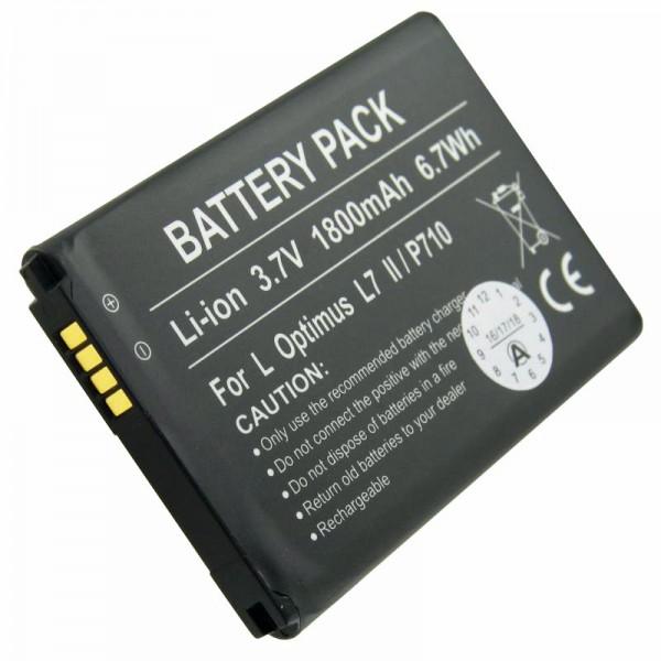 Batterie Optimus L7 II, P710, P715, VS890 en réplique de la batterie AccuCell