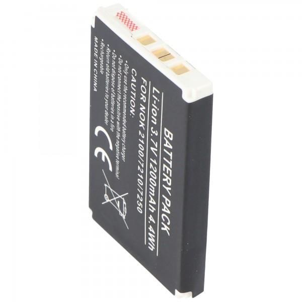 AccuCell batterie compatible pour Nokia 3200, BLD-3 1000mAh