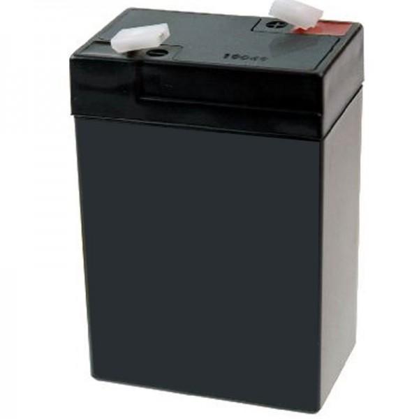 Batterie réplique GAB-A04 adaptée aux balances centrales GAB-N, CFS, CPB-D / N, RPB-D, 6 volts
