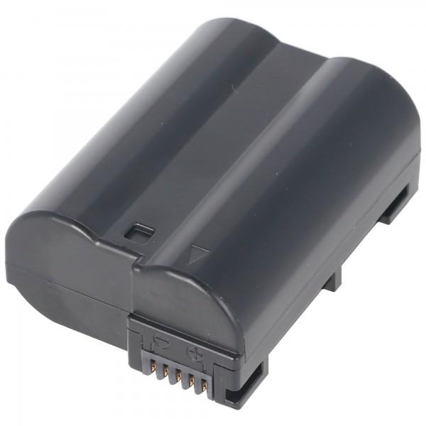 Batterie AccuCell pour Nikon EN-EL15, CoolPix D800, D800E, D7000, V1, D7200