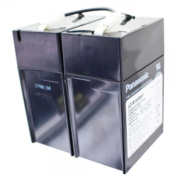 Batterie Panasonic LC-R124R2P, Batterie LC-R124R5P 12 volts 4,5 Ah