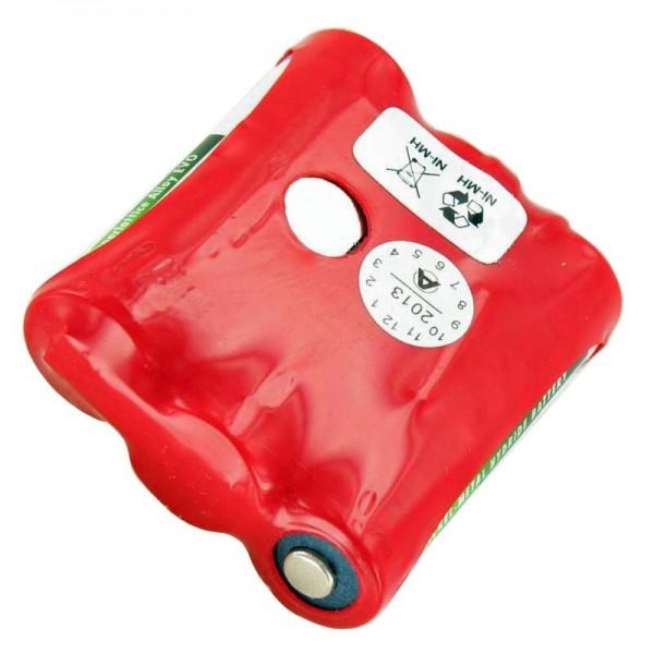 AccuCell batterie adapté pour Falcon MX2, MX2WH, 1650mAh