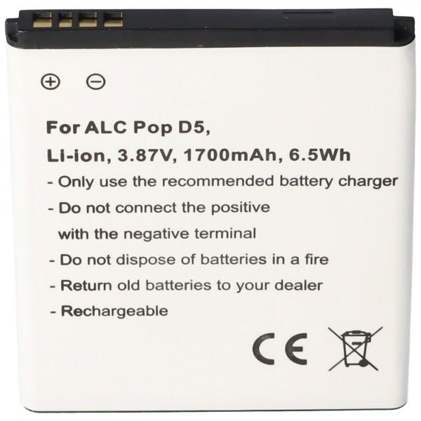 Batterie compatible avec la batterie Alcatel Pop D5 TLi018D1