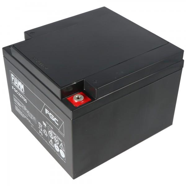 Fiamm FGC22705 batterie au plomb 12 volts 27000mAh avec connexion à vis M5