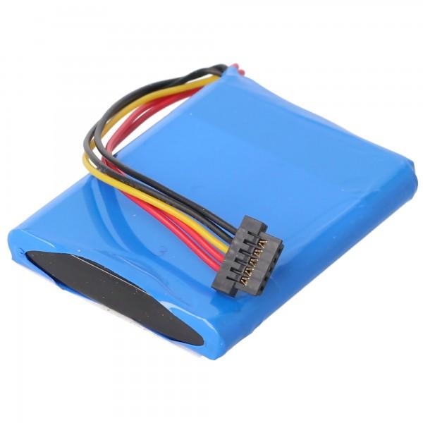 Batterie compatible avec la batterie TomTom XL Live, AHL03713005, VF3A, VF3M
