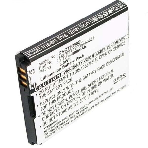 ZTE F290 batterie de remplacement de AccuCell