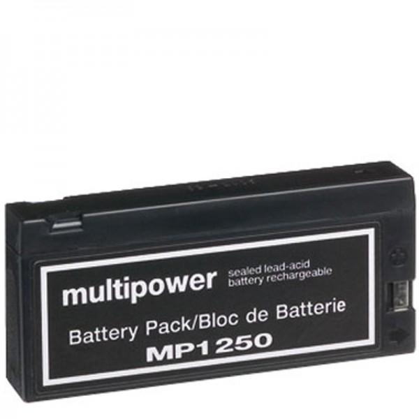 AccuCell batterie adaptée pour Panasonic VW-VBF2E, LC-SD122P, JVC BN-V90