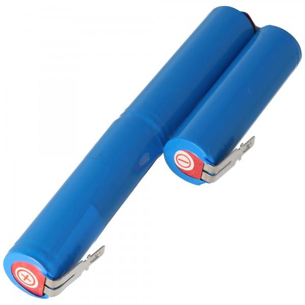Accu100 batterie adaptée pour Gardena Accu 100 Li-ion batterie 10.8 Volt avec 1400mAh