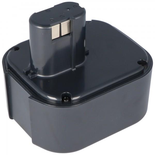 AccuCell batterie adapté pour Hitachi EB24B, EB2430H Batterie NiMH 2.0Ah