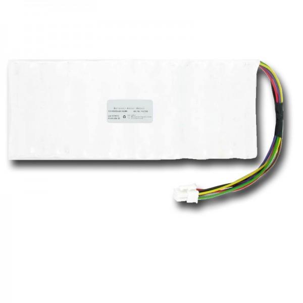 Batterie pour Husqvarna 5350962-01, 5350636-01, NiMH 6Ah