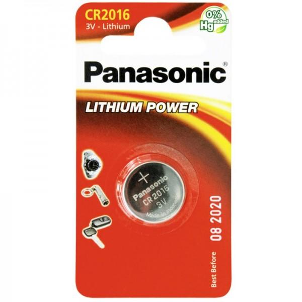 Panasonic CR2016 Pile au lithium 1 pièce Panasonic CEI CR2016