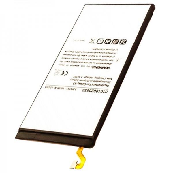 Batterie compatible pour Samsung Galaxy A9, Galaxy A9 2016, Galaxy A9 Pro, SM-A9000, SM-A9100 Batterie EB-BA900ABE