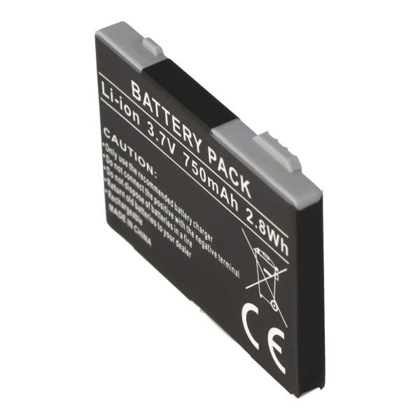 AccuCell batterie adapté pour Siemens C70, 750mAh