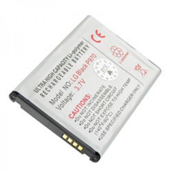 AccuCell batterie adapté pour LG P970 batterie BL-44JN, BL-44 JN