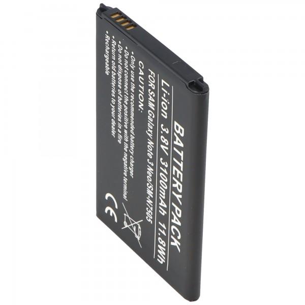 Batterie SM-N7505 pour Samsung Galaxy Note 3 en tant que réplique de la batterie d'AccuCell