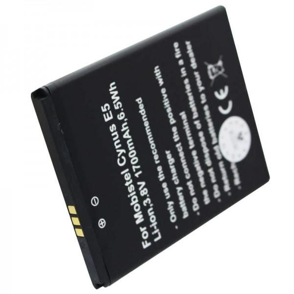 Batterie adaptée à la batterie Mobistel Cynus E5 Cynus E5 4G E50061505001111476