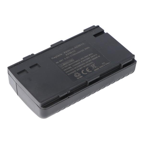 Batterie adapté pour Aiwa BN-V6GU, Nordmende AC1100, 2100mAh