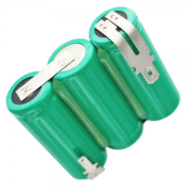 Batterie pour cisaille à gaz Wolf Accu 45, 7084000 3,6 volts NiMH 2150mAh