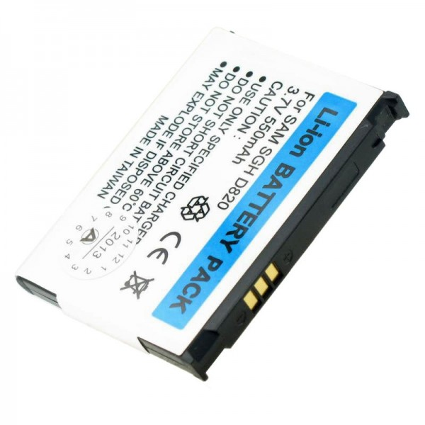 AccuCell batterie adapté pour Samsung SGH-D820, SGH-P300, SGH-Z510