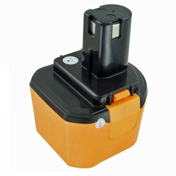 AccuCell batterie adaptée pour Ryobi 1400651, 1400669 batterie 9.6 Volt NiMH 2Ah