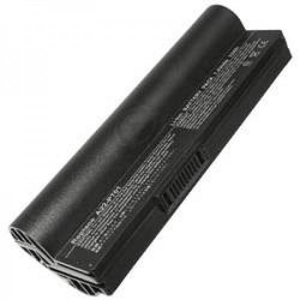 Batterie AccuCell pour Asus Eee PC, 6600mAh noir