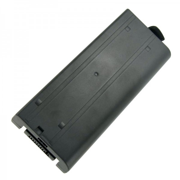 Batterie compatible pour Panasonic ToughBook CF-18, CF18, CF-VZSU30, 7400mAh