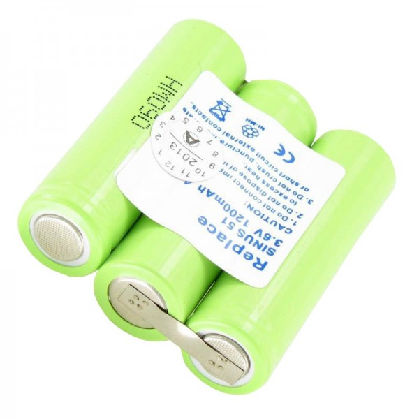 AccuCell batterie adapté pour Ascom Samba, Beocom 5000, T Sinus 51