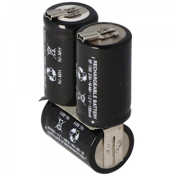 Wella Expert HS50 NiMH batterie rechargeable comme une réplique de AccuCell avec 1300mAh