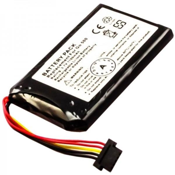 Batterie pour TomTom Go550, Go550 Live, 8CP5.011.11, P11P11-4