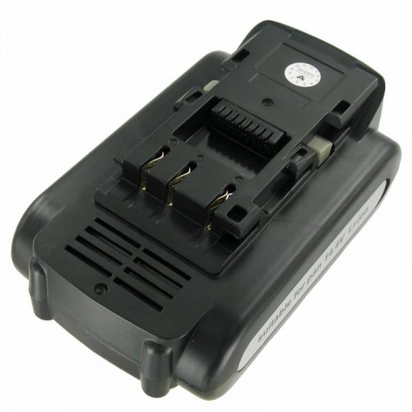 Batterie pour Panasonic EY9L40, EY9L41 Batterie Li-ion de 14,4 Volt et 2000mAh