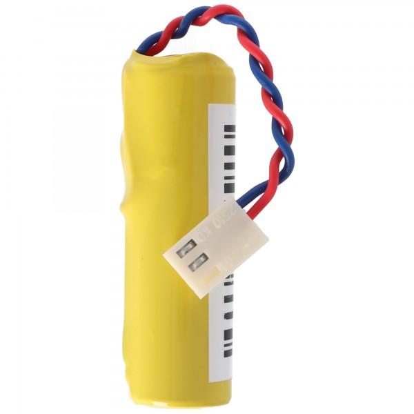 Batterie exactement adaptée à la batterie Daitem BATLi04 FAS 2901/2