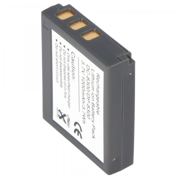 Batterie AccuCell adaptable sur Minox DC-8111