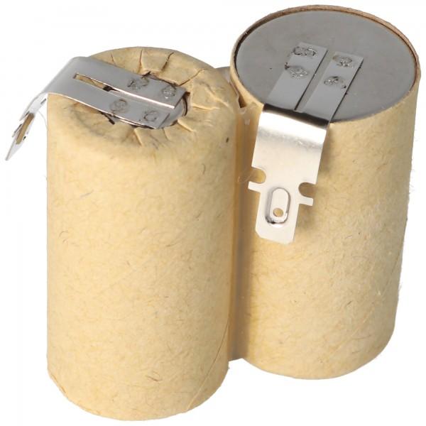 AccuCell batterie adapté pour aspirateur à main 2,4 volts