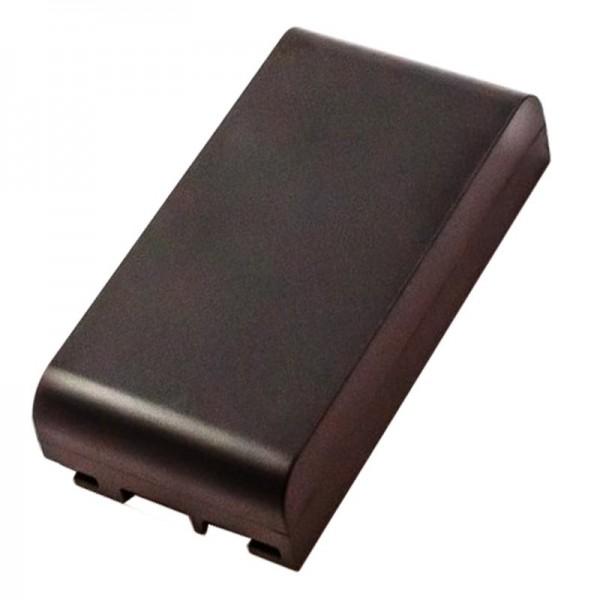 AccuCell batterie convient pour le Leica 667318 batterie FS281, GEB111, GEB112