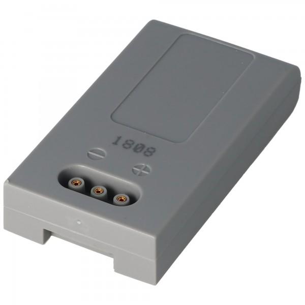 Batterie pour HÖFT & WESSEL HW19200 batterie T26580 / 2, 3.6 Volt 1900mAh