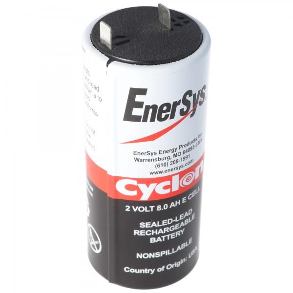 Hawker Cyclon Enersys Cyclon 0850-0004 Batterie 8000mAh 2 Volts