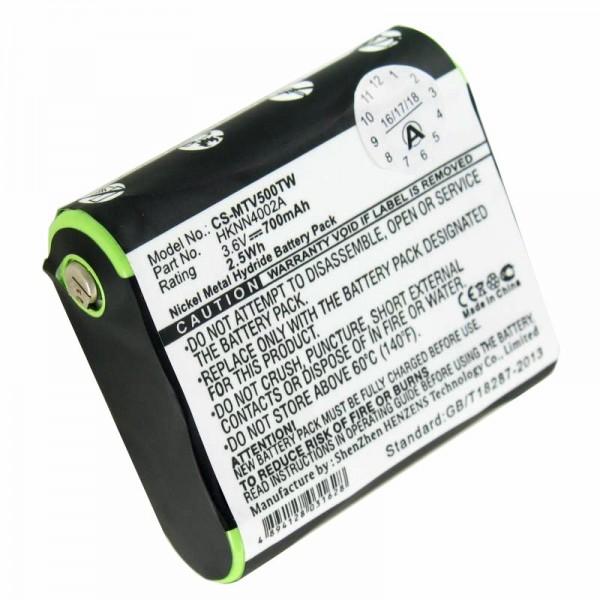 Batterie compatible pour Motorola HKNN4002A Talkabout FV500, T9500 3.6 Volt 700mAh