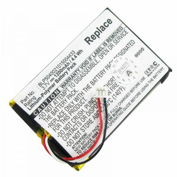 AccuCell batterie convient pour la batterie Falk F3, F4, batterie F6 BLP5040021015004433