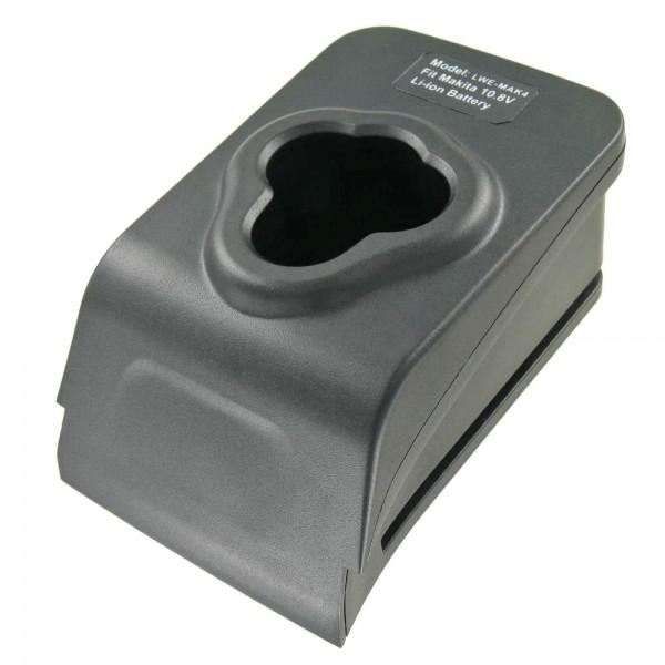 Adaptateur de charge AccuCell adapté à la batterie Makita 194550-6, 194551-4, 195332-9, BL1013, BL1014