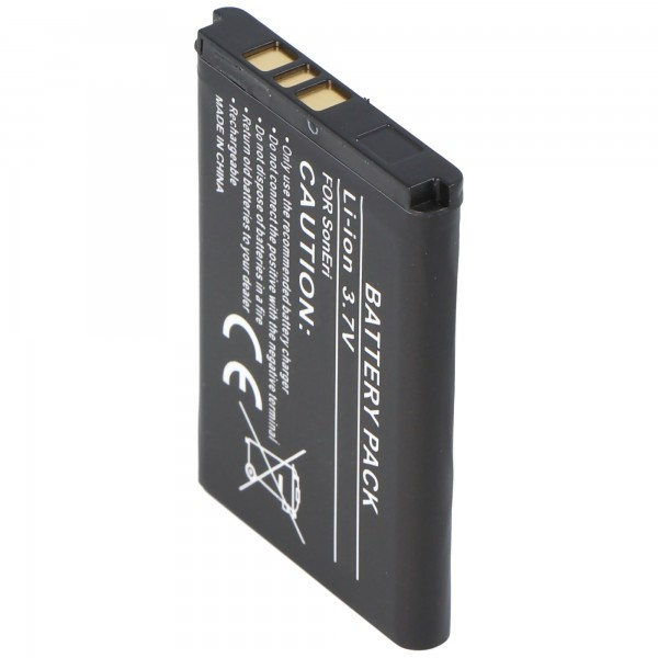 Batterie AccuCell pour Sony Ericsson K220i, 600mAh