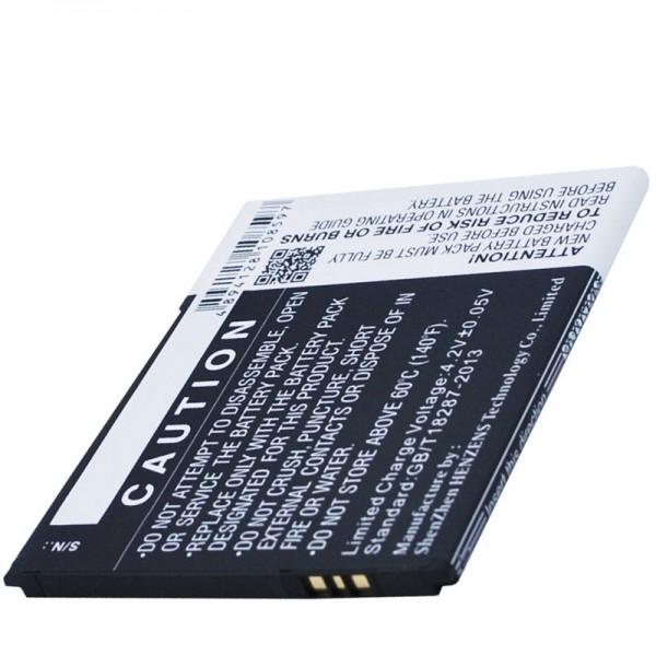 Batterie adapté pour BQ Aquaris 5.0 HD B20 Li-Ion 3,7 Volt 2000mAh