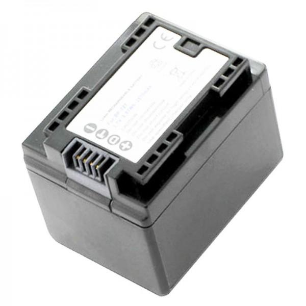 Batterie Canon BP-727 de AccuCell pour Canon compatible LEGRIA HF M52